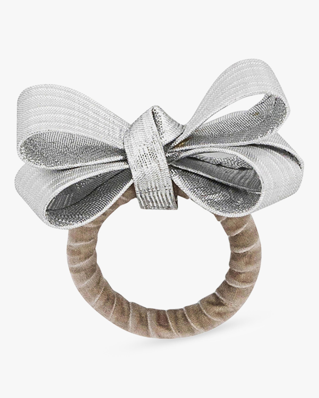 Juliska Tuxedo Silver Napkin Ring 0