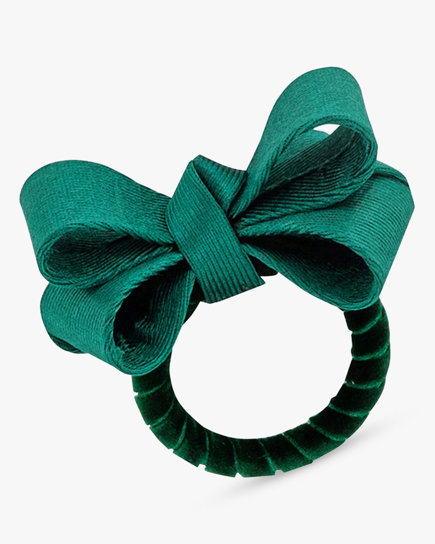 Juliska Tuxedo Evergreen Napkin Ring 1