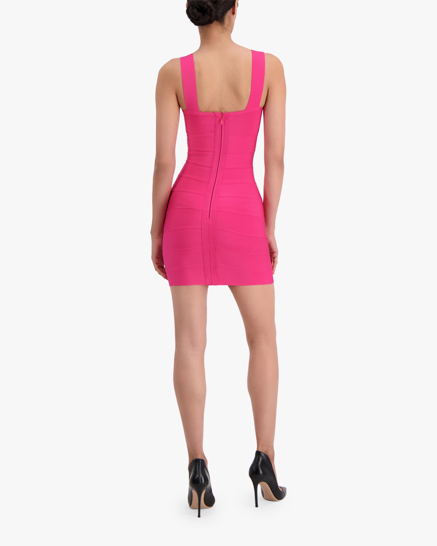 Herve Leger Bustier Bandage Mini Dress 3