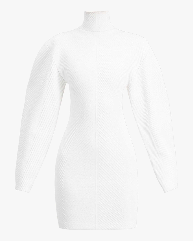 Herve Leger Long-Sleeve Contour Mini Dress 1