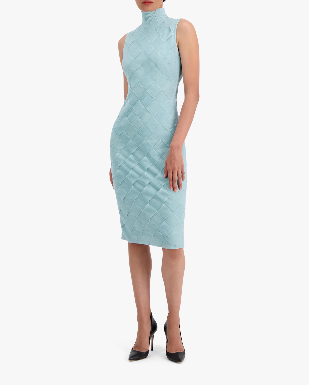 Herve Leger Textured Bandage Midi Dress 1