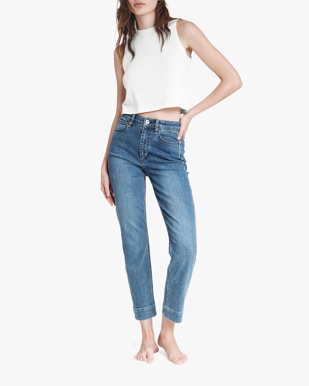 rag & bone Nina High-Rise Ankle Cigarette Jeans 2