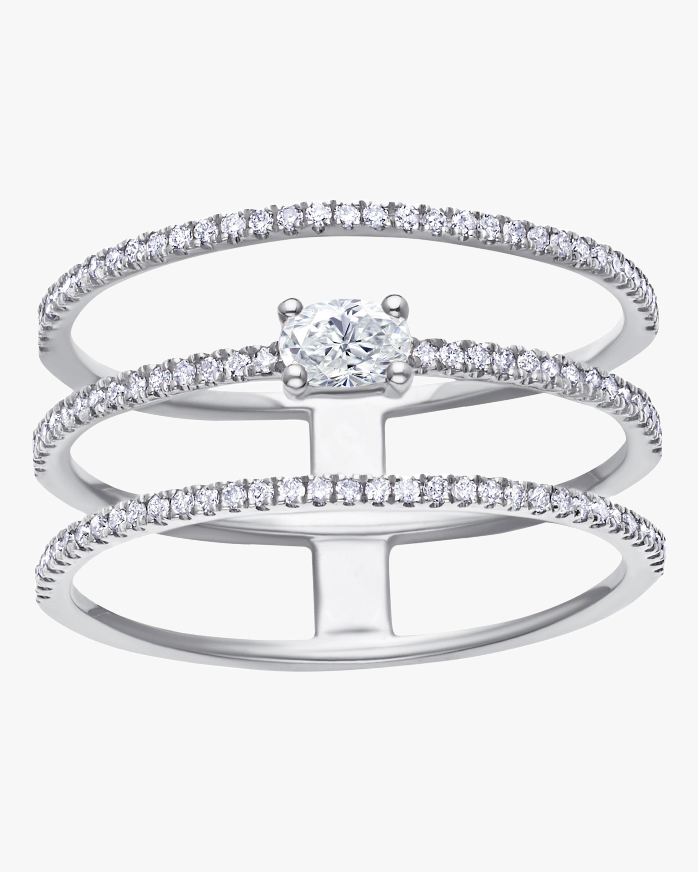 Graziela Gems Triple-Layer Diamond Ring 0