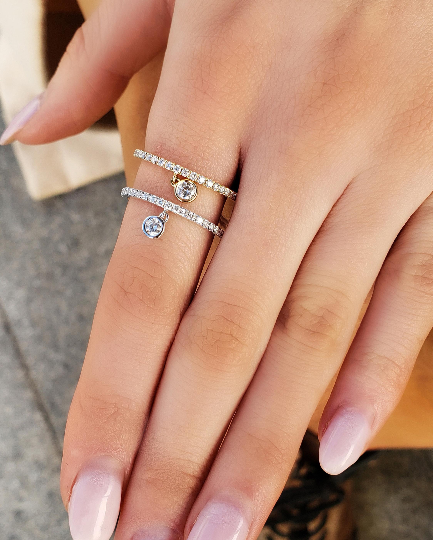 Graziela Gems Diamond-Drop Ring 2