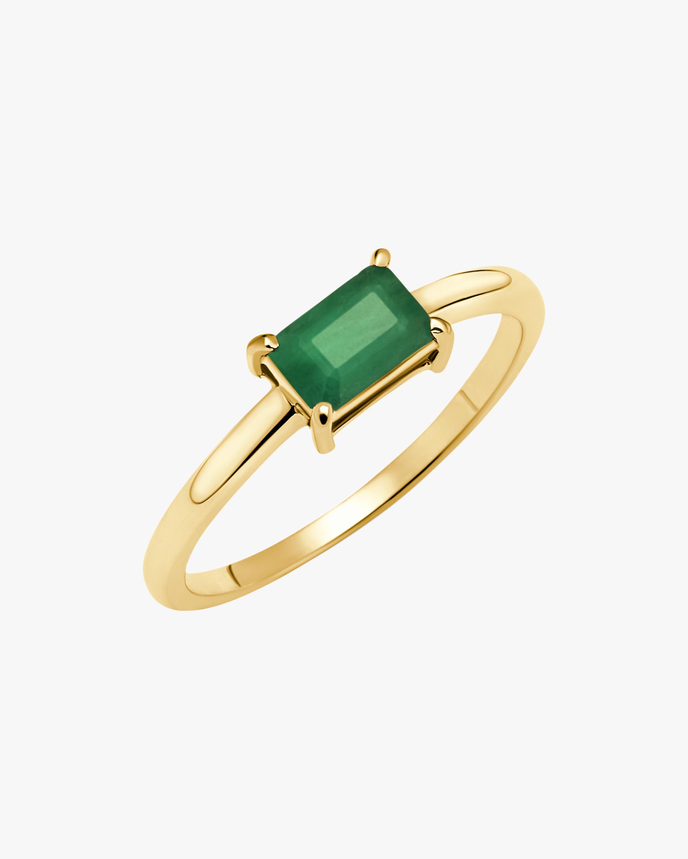 Graziela Gems Prong-Set Emerlad Ring 1