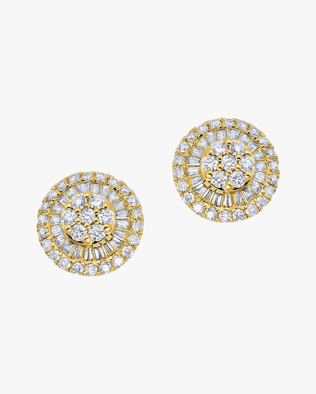 Graziela Gems Diamond Disc Earrings 2