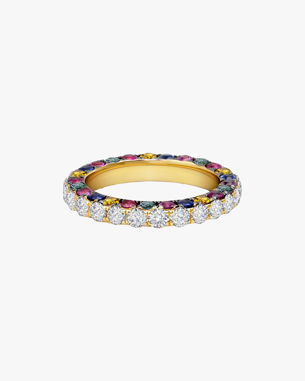 Graziela Gems Diamond & Gemstone Trimmed Band 1
