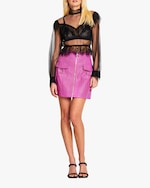 Alice McCall Bad Angels Leather Skirt 4