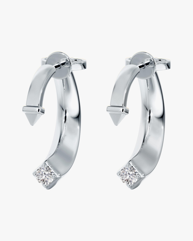 De Beers Forevermark Forevermark Avaanti™Arc Earrings 1