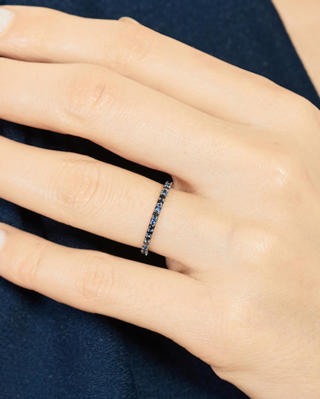 Selin Kent Ocean Blue Eternity Ring 1