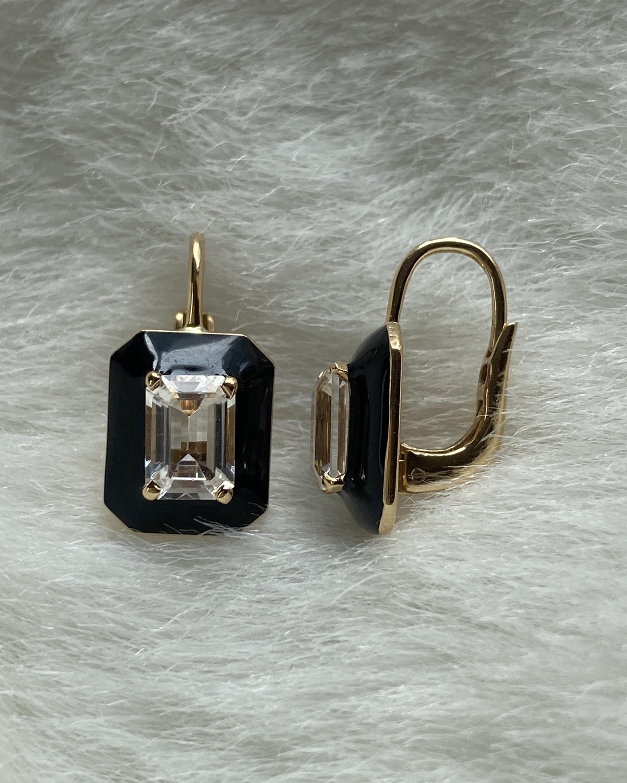 Goshwara Queen Emerald-Cut Earrings 3