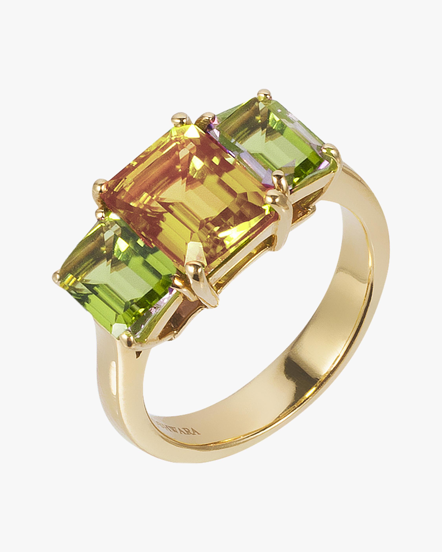 Goshwara Citrine & Peridot Ring 0