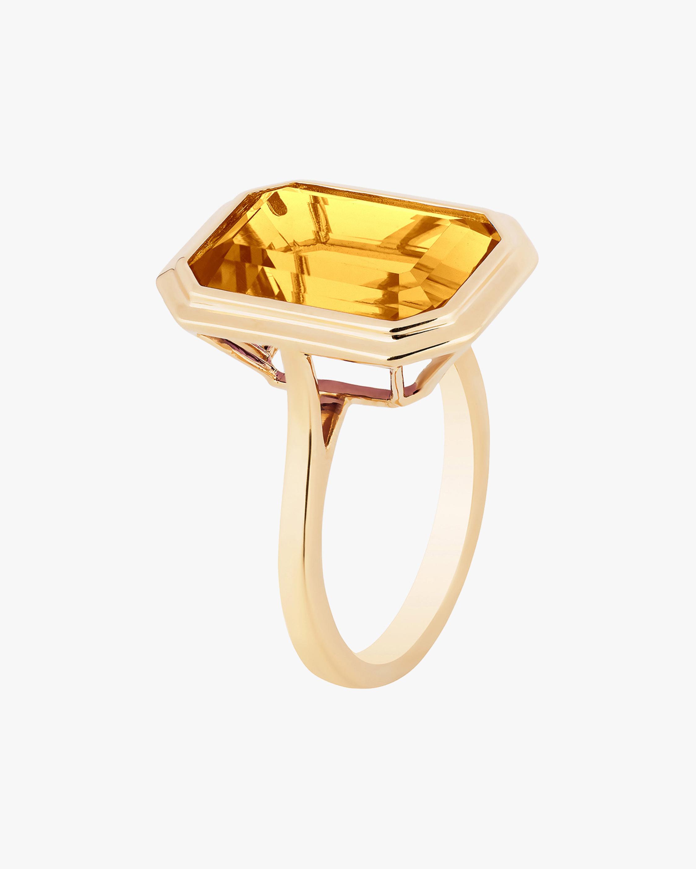 Goshwara Manhattan Citrine Ring 0