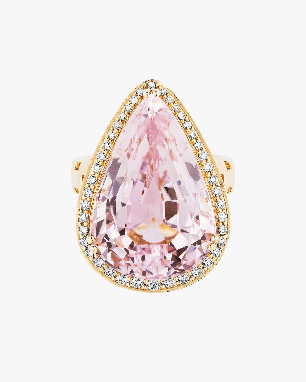 Goshwara One of a Kind Kunzite & Diamond Ring 0