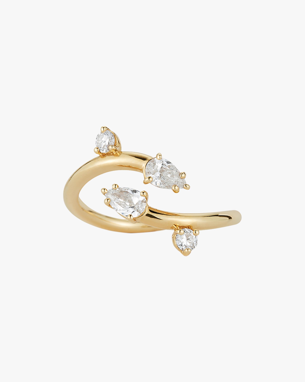 Renna Diamond Wave Study Ring 0