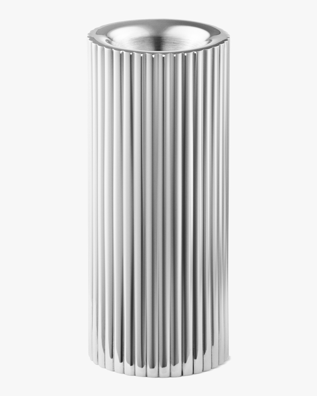 Georg Jensen Bernadotte Stainless Steel Tealight & Candle Holder - 4in 0