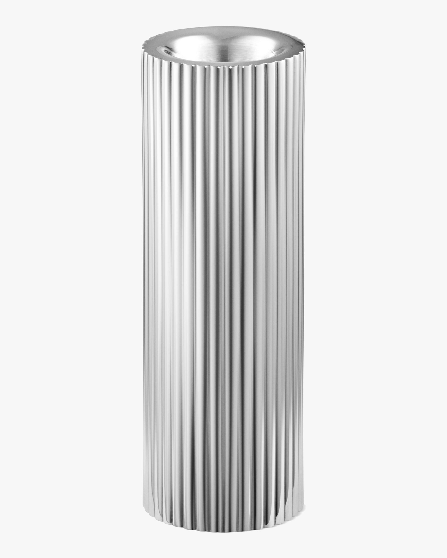 Georg Jensen Bernadotte Stainless Steel Tealight & Candle Holder - 5.5in 1