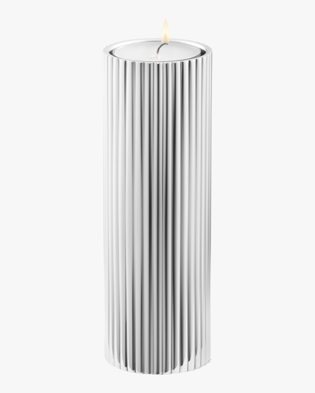 Georg Jensen Bernadotte Stainless Steel Tealight & Candle Holder - 5.5in 2