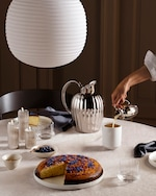 Georg Jensen Bernadotte Tealight & Candle Holder Set 1