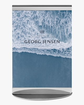 Georg Jensen Sky Stainless Steel Picture Frame - 4x6 2