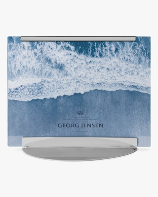 Georg Jensen Sky Stainless Steel Picture Frame - 7x9 2