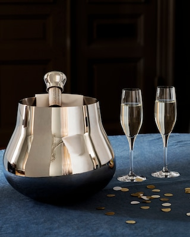Georg Jensen Sky Stainless Steel Champagne Cooler 2