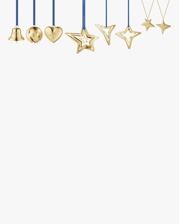 Georg Jensen CC 2021 8-Piece Gold Ornament Set 1