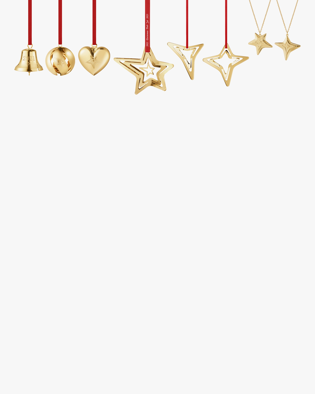 Georg Jensen CC 2021 8-Piece Gold Ornament Set 2