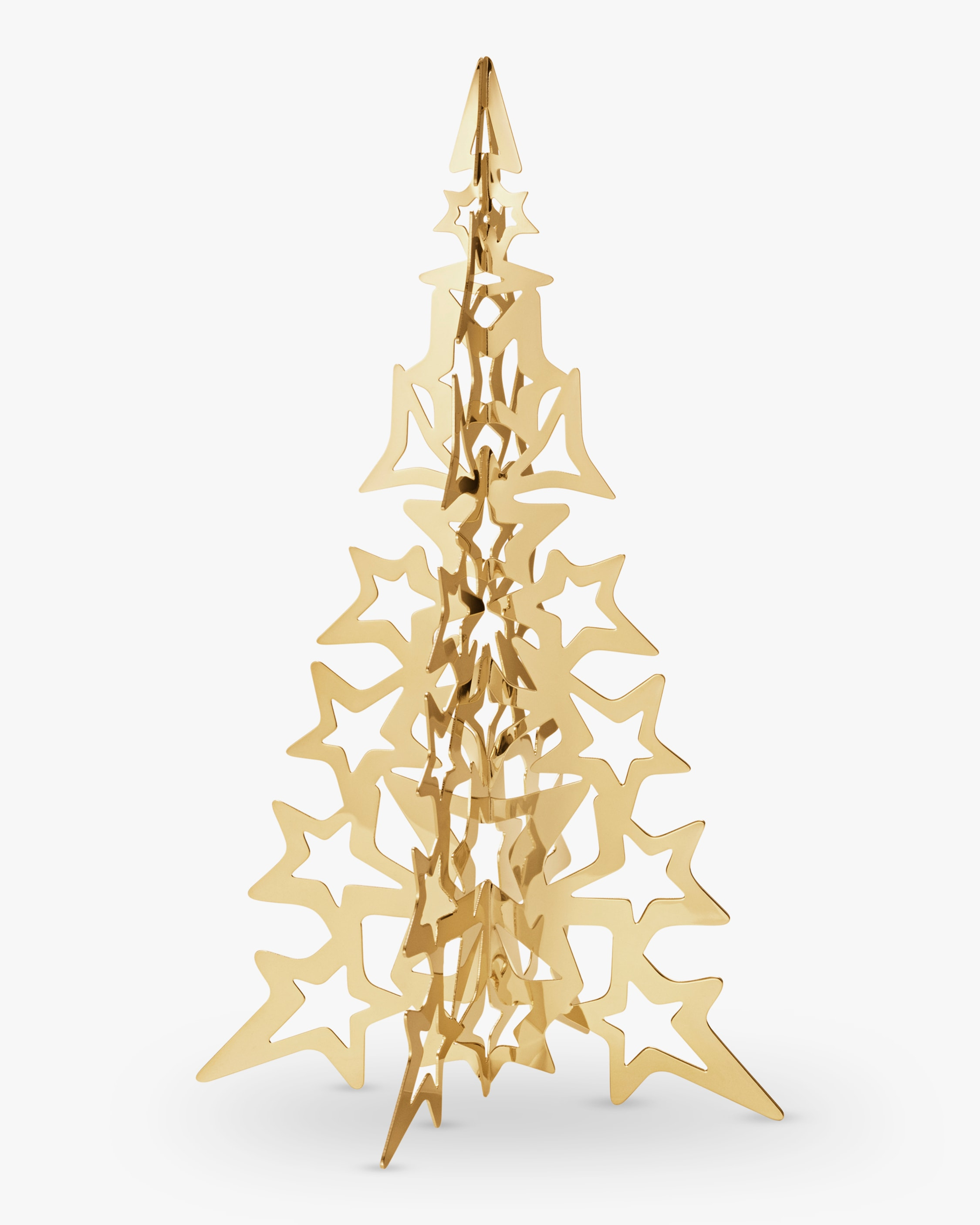 Georg Jensen Christmas Collection 2021 Gold Tree Star - Large 1