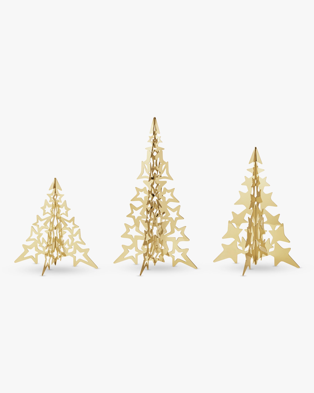 Georg Jensen 2021 Gold Star Tree Set 1