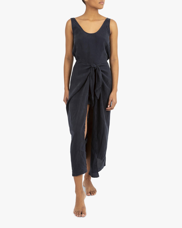 Anemos The D.K. Midi Wrap Dress 2