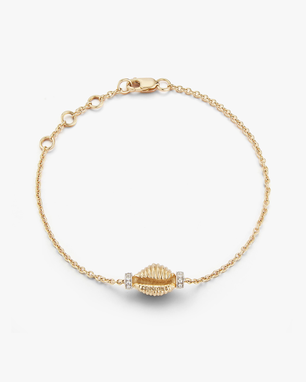 Renna Thread & Shell Diamond Bracelet 1
