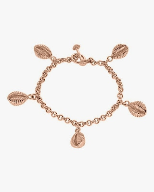 Renna Vintage Shell Charm Bracelet 1