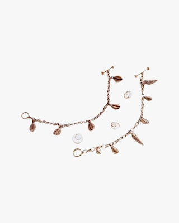 Renna Vintage Shell Charm Bracelet 2