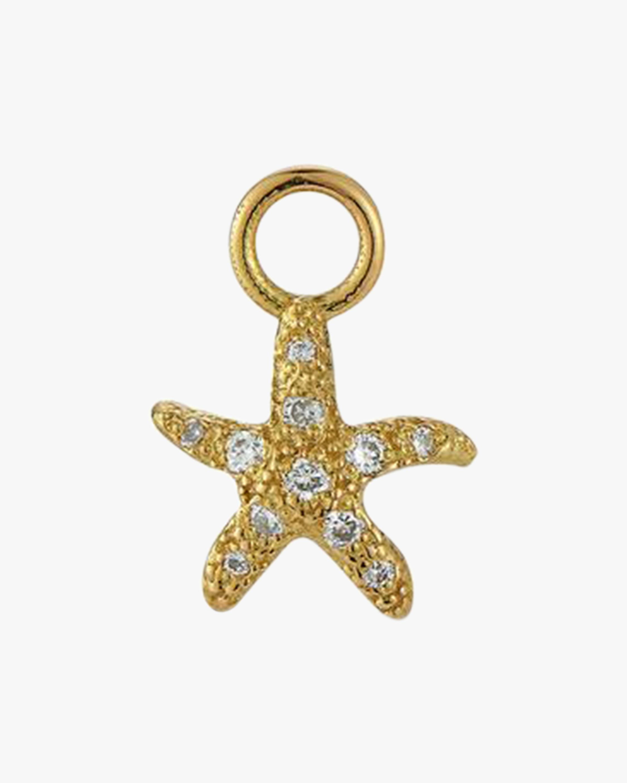 Renna Starfish Huggie Charm 1