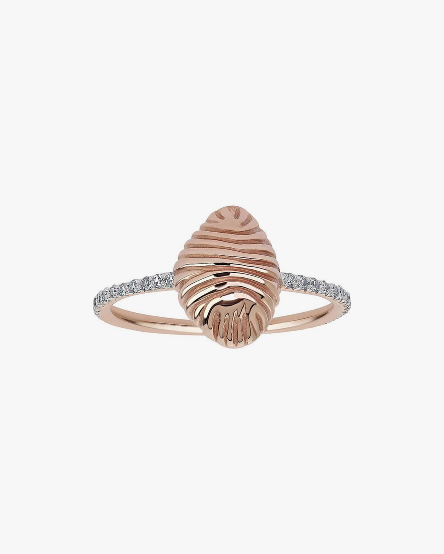 Renna Thread & Shell Diamond Ring 1