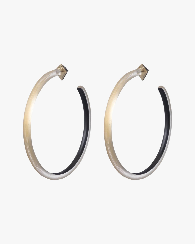Alexis Bittar Lucite Skinny Hoop Earrings 2