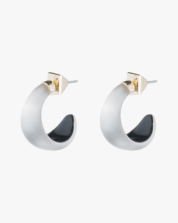Alexis Bittar Lucite Huggie Earrings 2