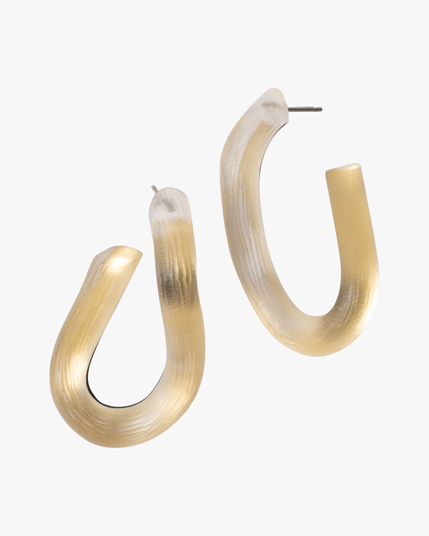 Alexis Bittar Twist Hoop Earrings 2