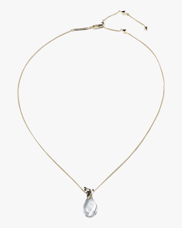 Alexis Bittar Liquid Lucite Vessel Pendant Necklace 2