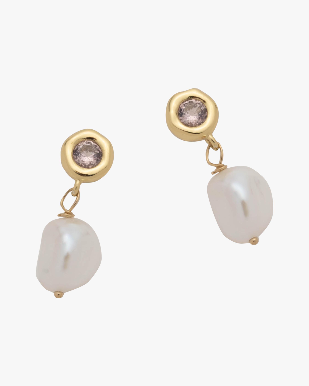 Alexis Bittar Asterales Pearl Drop Earrings 0