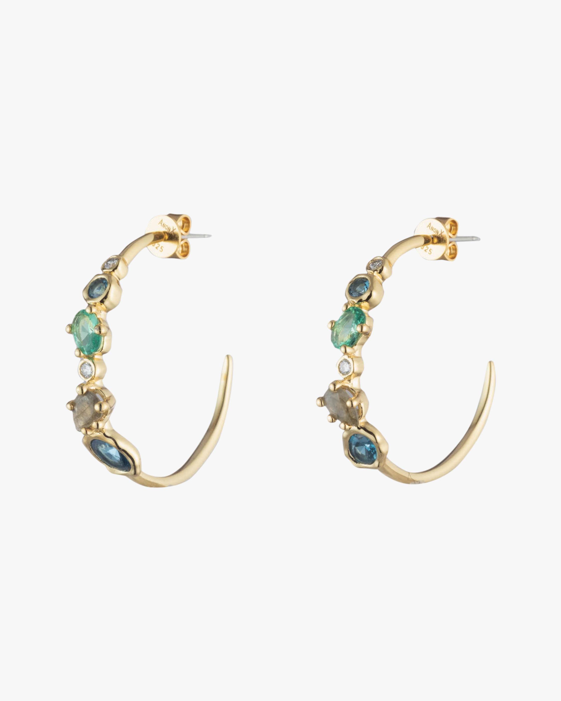 Alexis Bittar Asterales Cluster Hoop Earrings 0