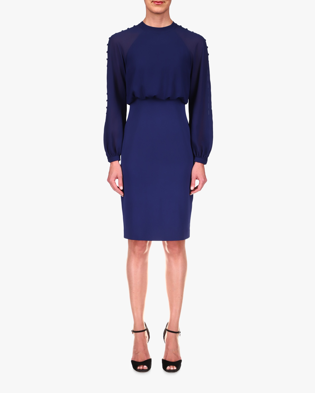 Badgley Mischka Blouson Day Dress 1