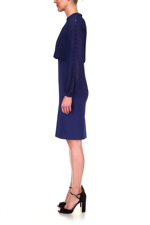 Badgley Mischka Blouson Day Dress 2