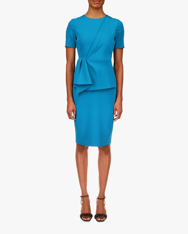Badgley Mischka Peplum Day Dress 0