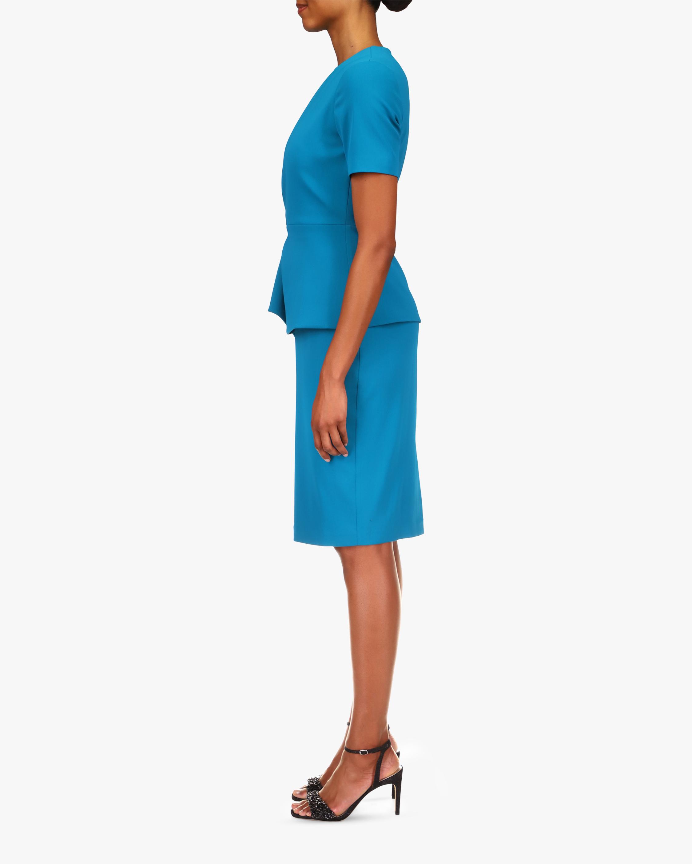 Badgley Mischka Peplum Day Dress 1