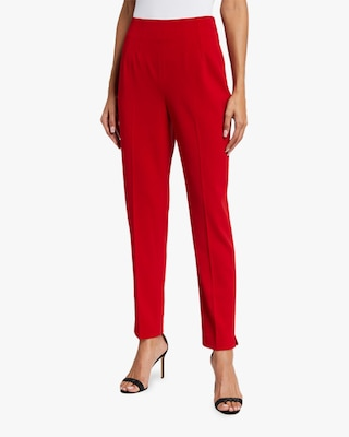 Badgley Mischka Fitted Crepe Pants 2