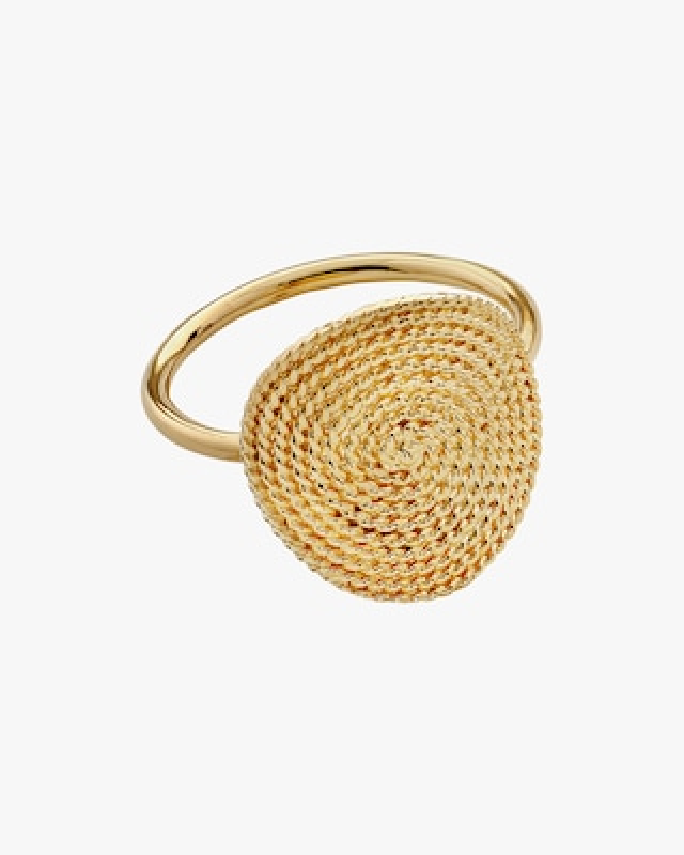 Penelope Jewelry Filigree Disc Ring 1