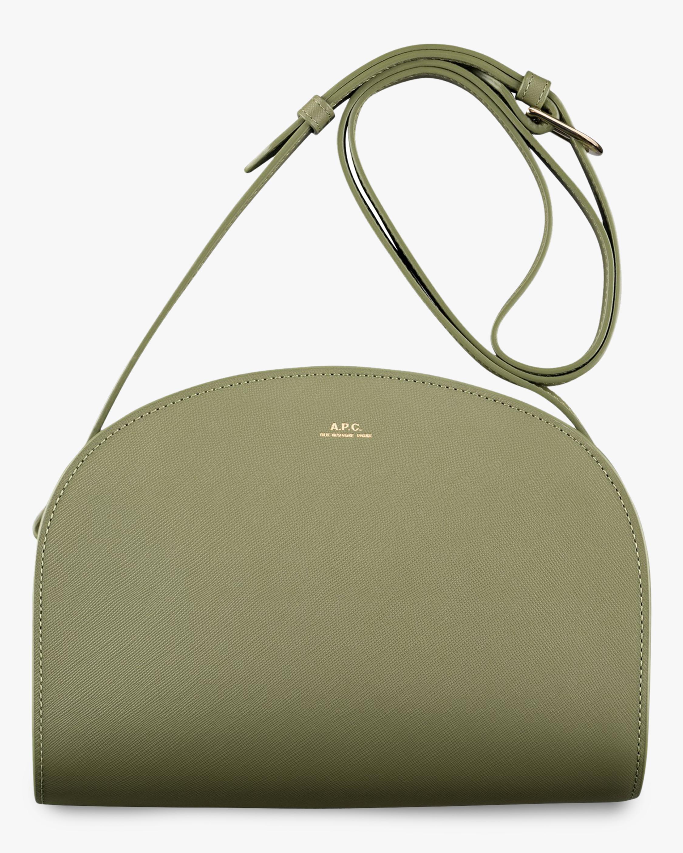 A.P.C. Demi-Lune Mini Crossbody Bag 0