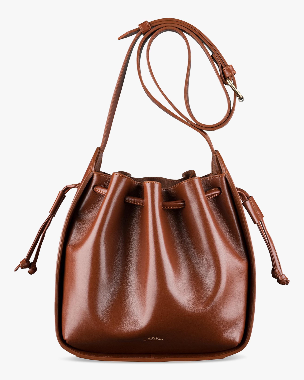 A.P.C. Courtney Drawstring Bag 0